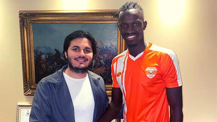 Transfer haberleri | Adanaspor, Amidou Diop'u transfer etti