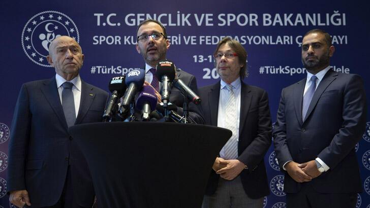 Bakan Kasapoğlu: Spor Kulüpleri ve Federasyonları Çalıştayı kardeşlik ruhuna uygun ilerliyor