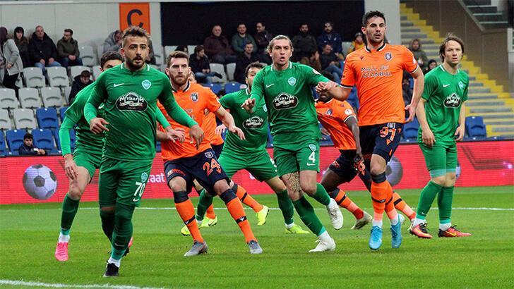 Medipol Başakşehir-Kırklarelispor: 1-1