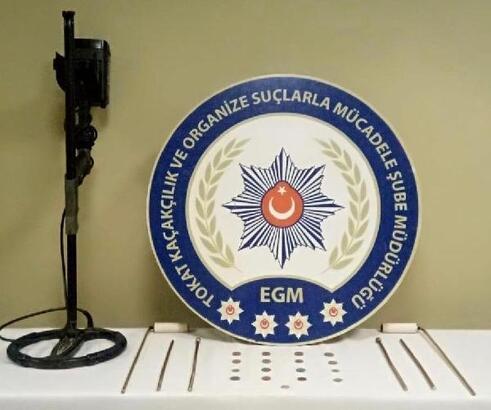 Tokat'ta tarihi eser operasyonunda 17 sikke ele geçirildi
