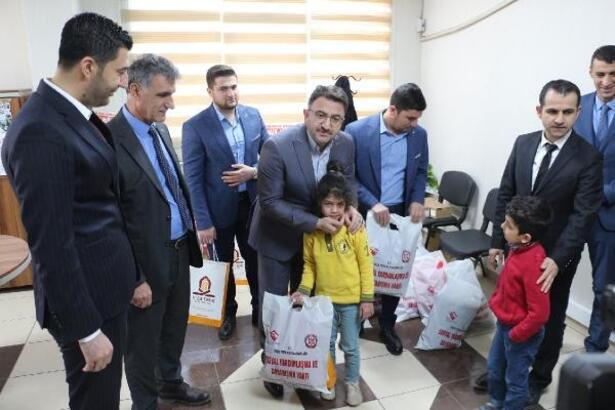 Kızıltepe'de 6 bin öğrenciye kıyafet desteği