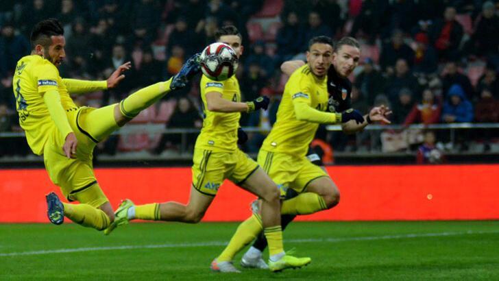 Hes Kablo Kayserispor-Fenerbahçe: 0-0