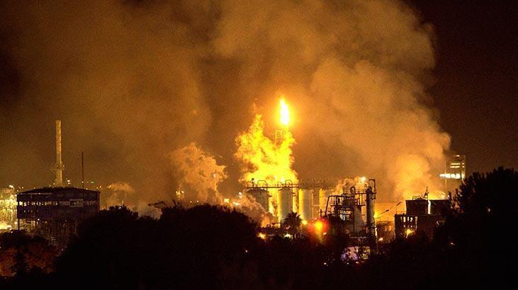 Son dakika haberi... İspanya'da petrokimya tesisinde patlama!
