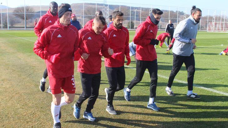 Lider Sivasspor'da Beşiktaş mesaisi başladı