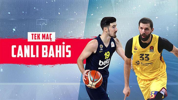 Fenerbahçe Beko, Barcelona'yı ağırlıyor! Heyecan Misli.com'da...