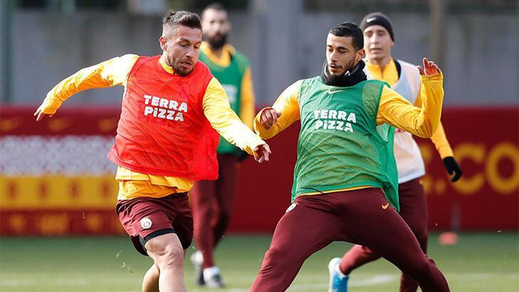 Galatasaray'da Denizli mesaisi başladı