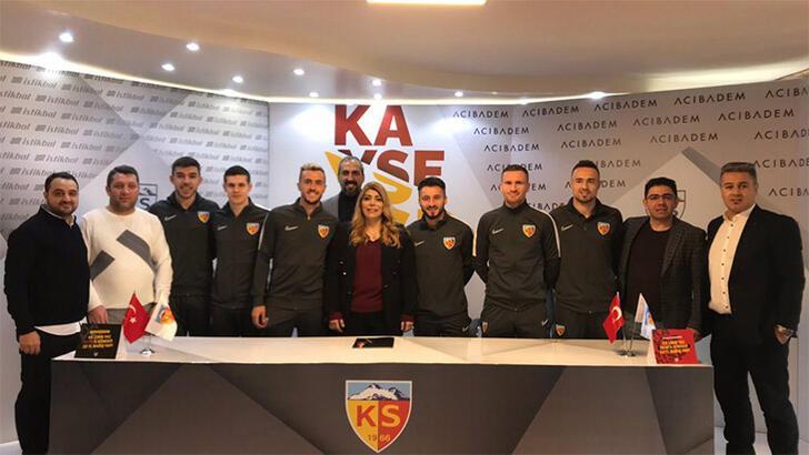 Transfer haberleri   Hes Kablo Kayserispor'da imza şov