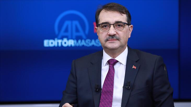 Enerji ve Tabii Kaynaklar Bakanı Fatih Dönmez'den yerli enerji açıklaması!