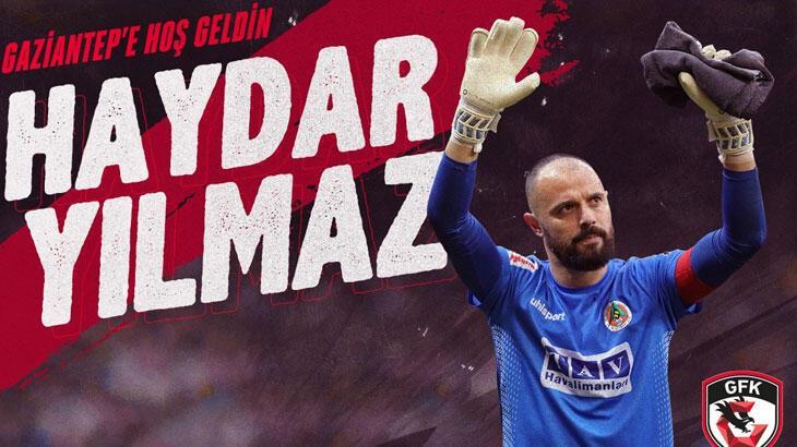 Gaziantep FK, Haydar Yılmaz'ı resmen açıkladı!