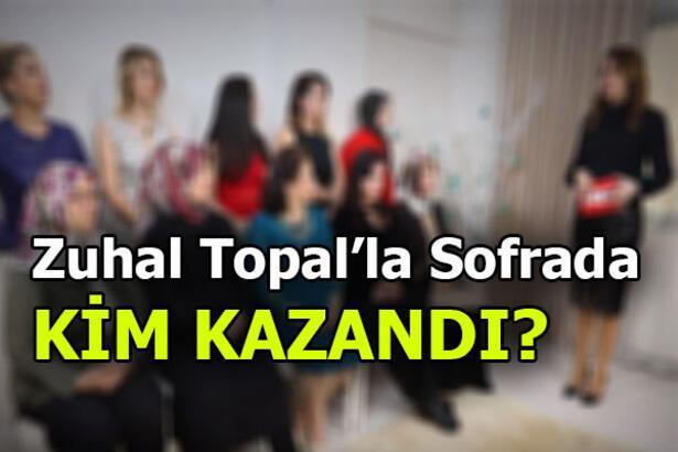 Hangi gelin birinci oldu? Zuhal Topal'la Sofrada kim kazandı? 17 Ocak Cuma