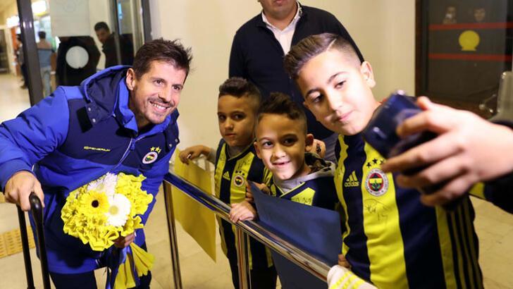 Fenerbahçe kafilesi Gaziantep'e geldi