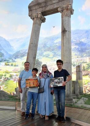 Karnesiyle gelen öğrenciler, Panorama 1326 Bursa Fetih Müzesi'nde ağırlanacak