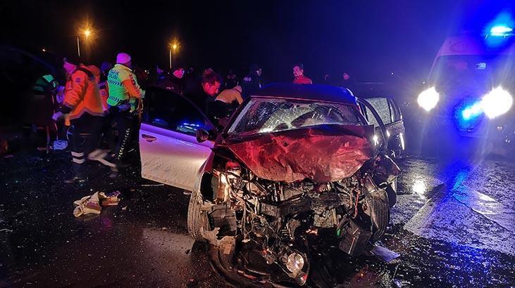 Edirne'de feci kaza! 3 ölü, 2 yaralı