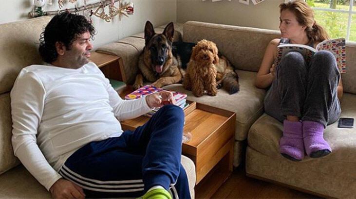 Ceyda Düvenci-Bülent Şakrak'ın ev halleri