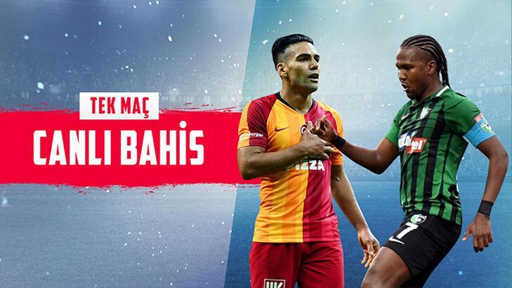 Galatasaray - Denizlispor maçı canlı bahis heyecanı Misli.com'da