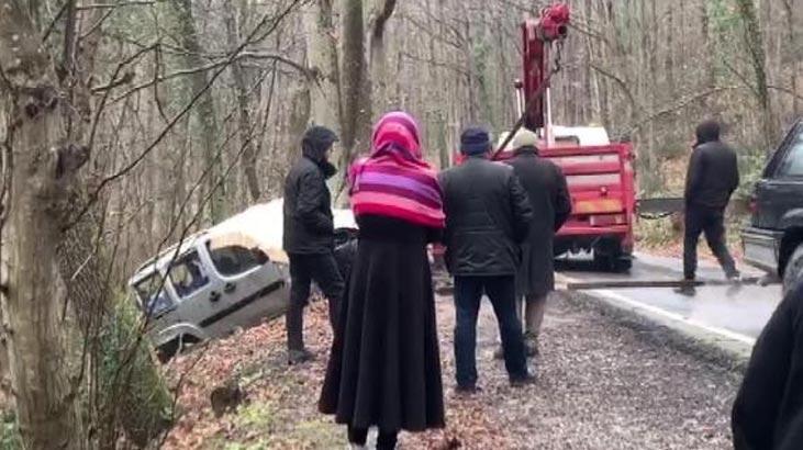 Belgrat Ormanı'nda kaza!