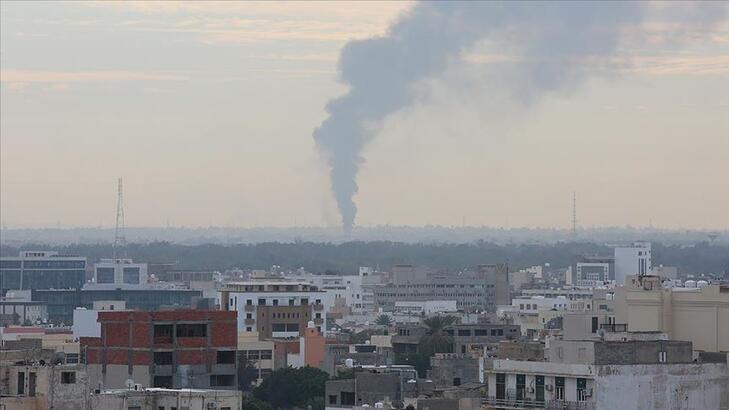Son dakika | Libya'nın başkentinde patlama sesleri!