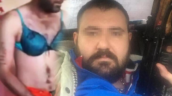Kadın kıyafetleri giydirip videosunu internete yüklediler! 'Aslan kardeşim İstanbul'u inlettin'