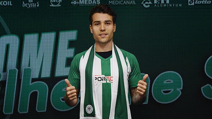 Son dakika | Guilherme Sitya resmen Konyaspor'da