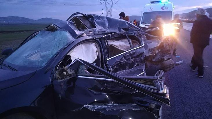 Çok feci kaza! Baba ve oğlu hayatını kaybetti