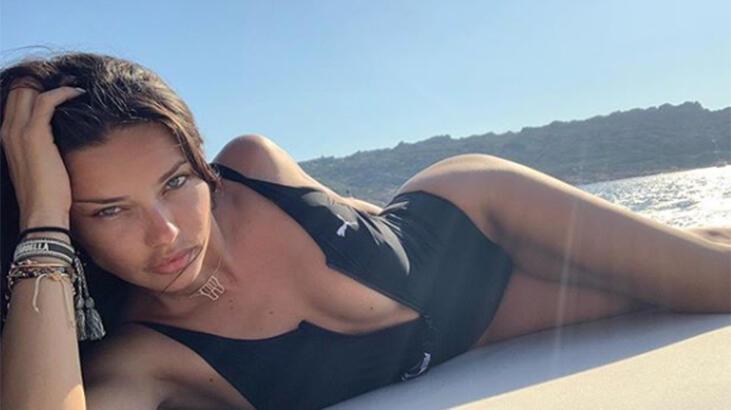 Adriana Lima'dan makyajsız paylaşım!