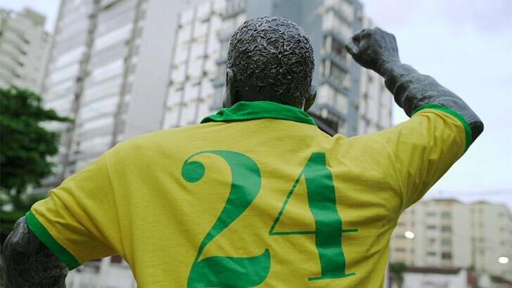 Brezilya, 24 numarayı rafa kaldırdı