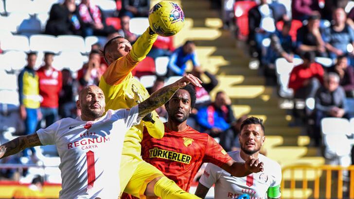 Göztepe rövanşta Antalyaspor'u ağırlıyor