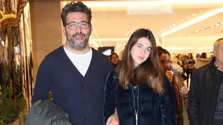 Emre Kınay'ın kızı Duru babasına yetişti