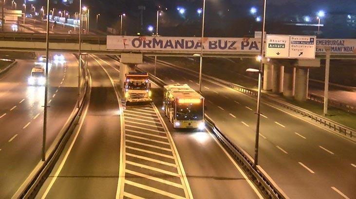 İstanbul'da 'kar' nöbeti! Tetikte bekleniyor