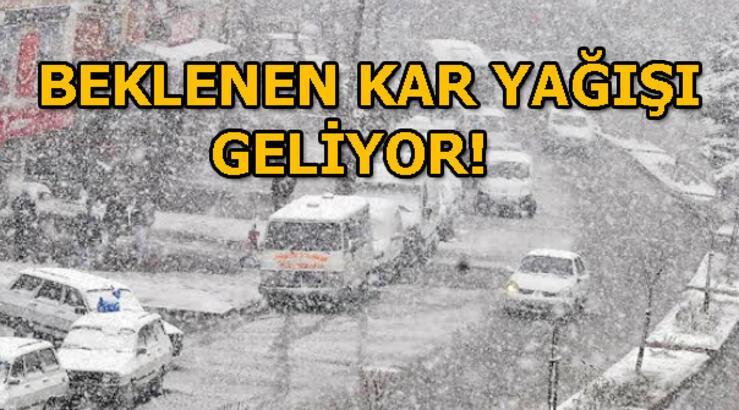 Son dakika | Meteoroloji saat verip uyardı! İstanbul'a kar yağacak mı? 23 Ocak il il hava durumu raporu