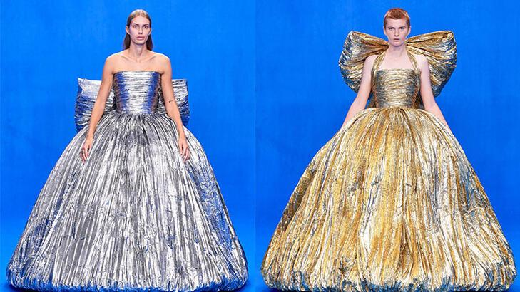 Balenciaga'nın couture retrosu başladı!