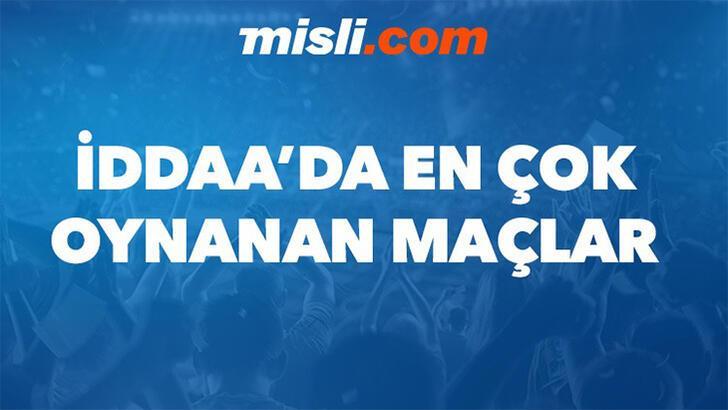 Misli.com'da günün en çok oynanan maçları