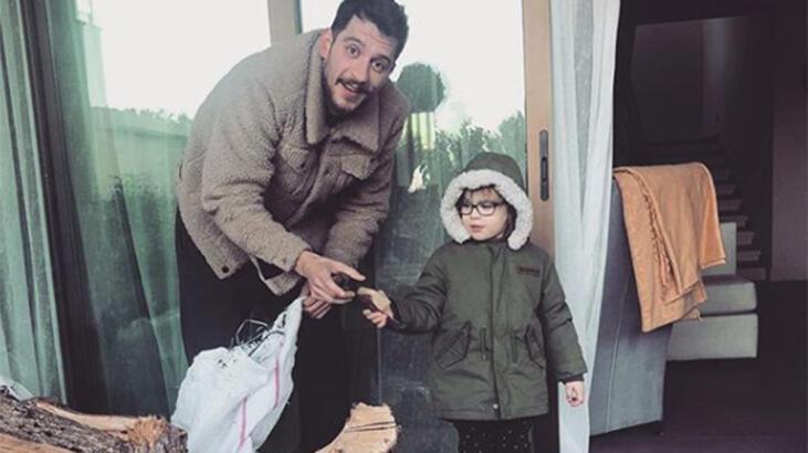 Uraz Kaygılaroğlu'ndan kızı Ada'ya nasihat: Odunlardan uzak dur aşkım!