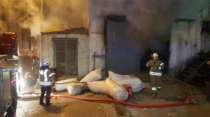 İstanbul'da korkutan yangın! Çok sayıda ekip sevk edildi