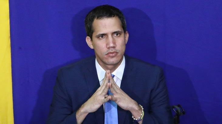 Venezuelalı muhalif lider Guaido Brüksel'de