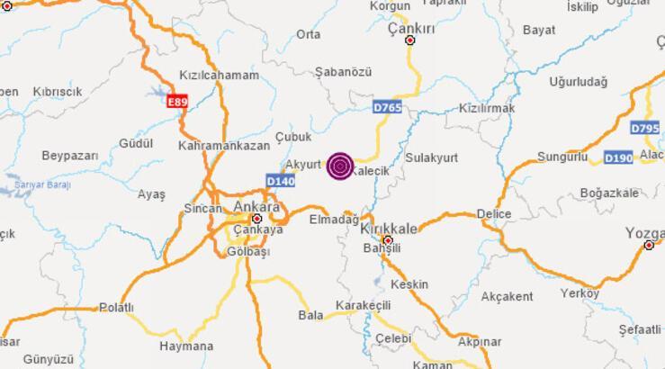Son dakika Ankara ve Manisa deprem haberleri - AFAD Kandilli Rasathanesi son depremler haritası - 23 Ocak nerede deprem oldu?