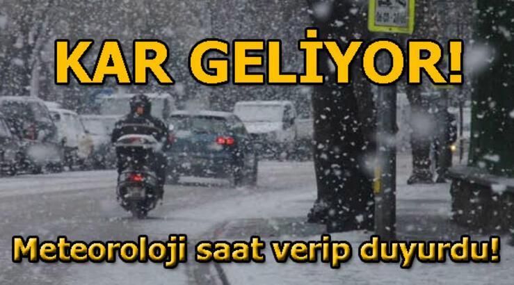 Meteoroloji'den son dakika kar uyarısı! 23 Ocak hava durumu raporu