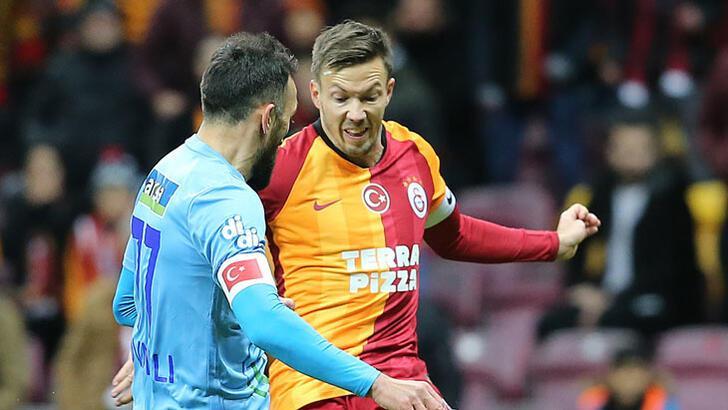 Galatasaray'da Martin Linnes kaptan çıktı!