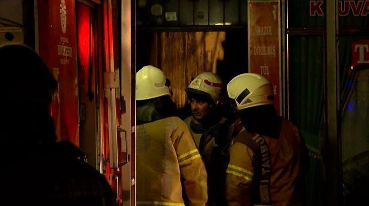 İstanbul'da korkutan yangın! 12 kişi etkilendi