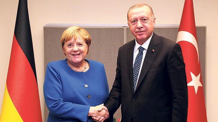 Erdoğan Merkel'i ağırlayacak