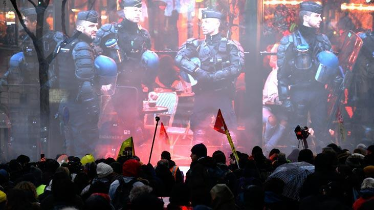 Fransız bakan gösterilerdeki polis şiddetini inkar etti