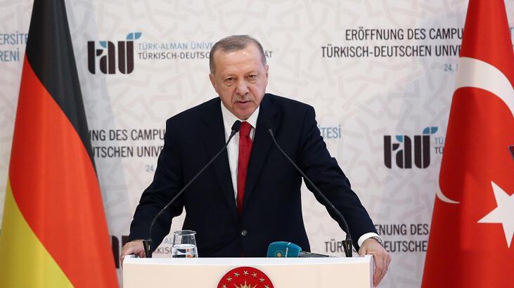 Son dakika... Cumhurbaşkanı Erdoğan: Libya'da krizi sonlandırmak en büyük hedefimiz!