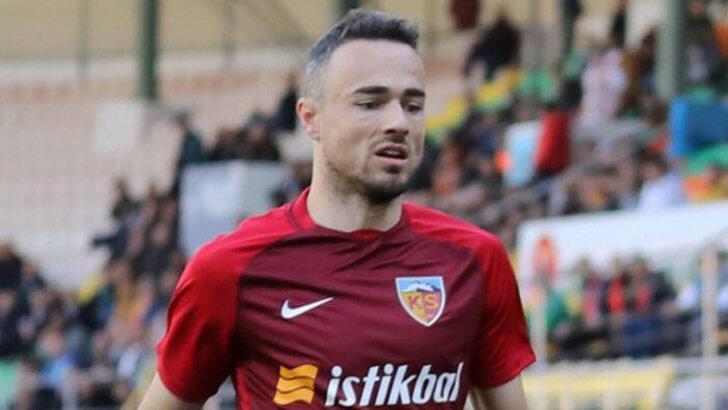 Kayserisporlu futbolcu Kvrzic'in 2 maçlık cezası onandı