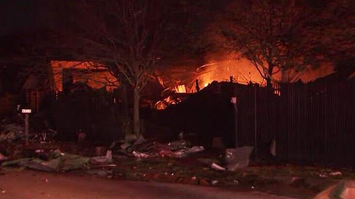 ABD'de şiddetli patlama... Binalar titredi, camlar kırıldı!