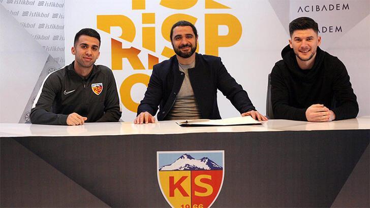 Transfer haberleri | Kayserispor'da çifte imza