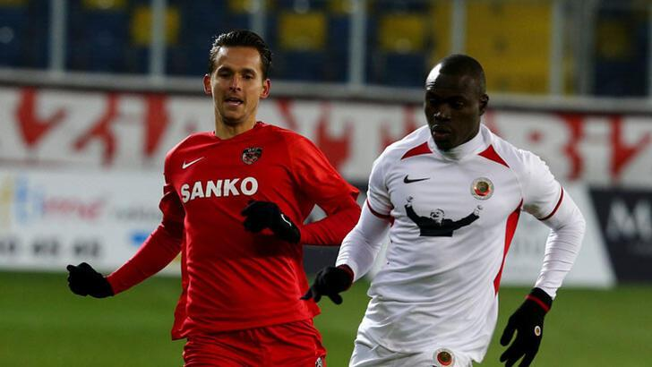 Gençlerbirliği - Gaziantep FK: 1-0