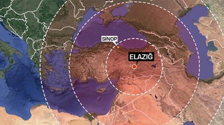 Elazığ'daki depremi 120 milyon kişi hissetti