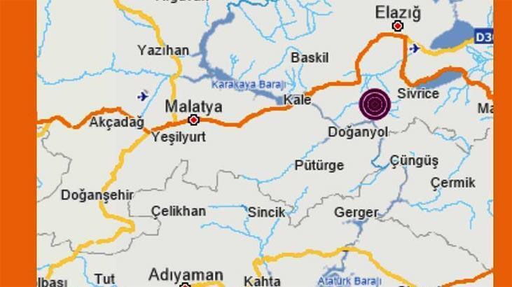 Son dakika haberi! Elazığ'da üst üste depremler