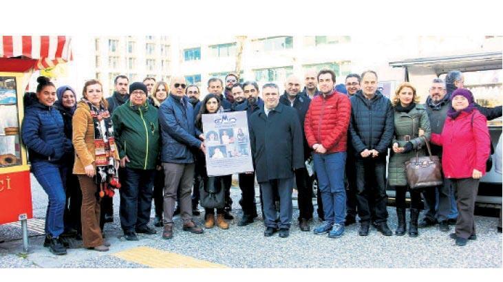 EMD İzmir Şubesi'nden üyeleri için anma töreni