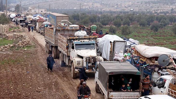 Son dakika... İdlib'den son 3 günde 31 bin sivil Türkiye sınırına göç etti